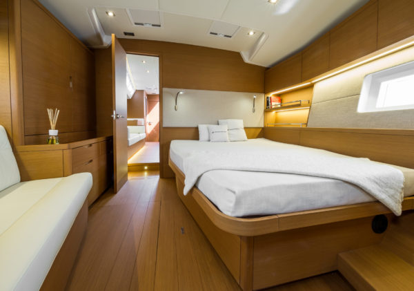 Forlì, Italy, 27 May 2016.The new Grand Soleil 58 no. 1by Cantiere del Pardo.Interior layout.Ph: Guido Cantini /Sea&See